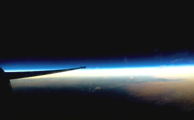 Lot U-2 i sesja zdjęciowa w przyśpieszeniu