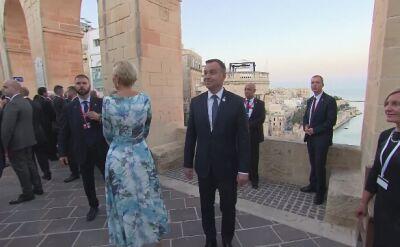 Prezydent i pierwsza dama na Malcie