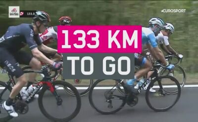 Podsumowanie 15. etapu Giro d'Italia
