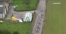 Wyścig dookoła Flandrii - Groźny upadek Juliena Alaphilippe'a