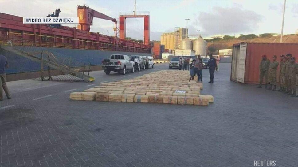 Rosyjscy marynarze zatrzymani z prawie 10 tonami kokainy
