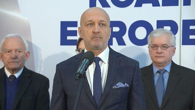 Marcinkiewicz: solidarni, zjednoczeni możemy pokazać Europie, że możemy wygrywać