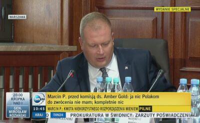Marcin P. odpowiada na pytania posła Zembaczyńskiego
