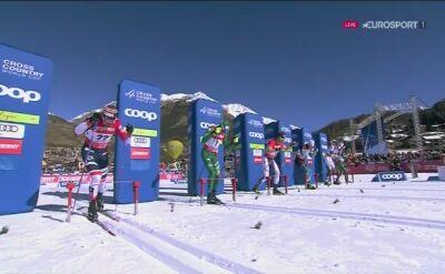Pellegrino wygrał sprint stylem dowolnym w Cogne