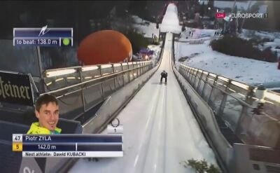 Skok Piotra Żyły z 2. serii konkursu w Willingen