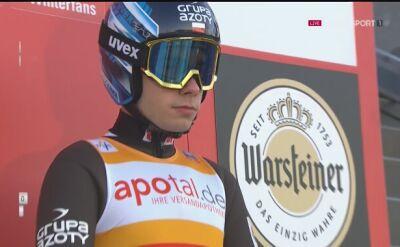 Drugi skok Jakuba Wolnego z konkursu drużynowego w Willingen