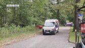 Pocisk, który wybuchł w lesie, znaleziono trzy dni temu