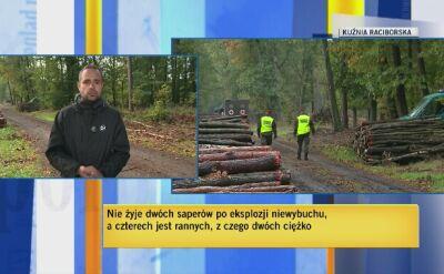 Usuwanie pocisków w Kuźni Racoborskiej to były działania rutynowe