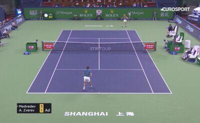 Skrót meczu Daniił Miedwiediew - Alexander Zverev