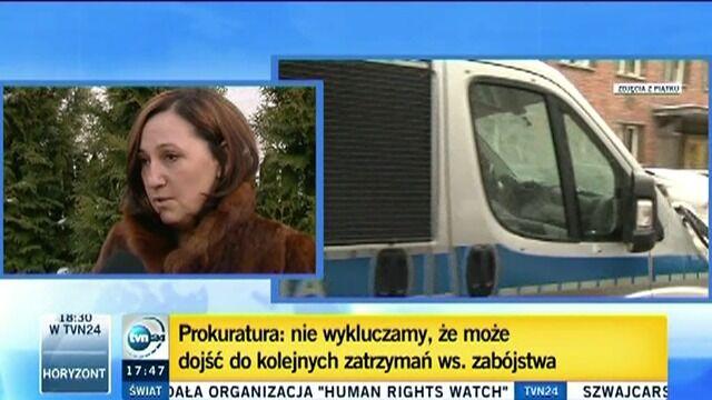 Prokurator o zatrzymanym ws. potrójnego zabójstwa