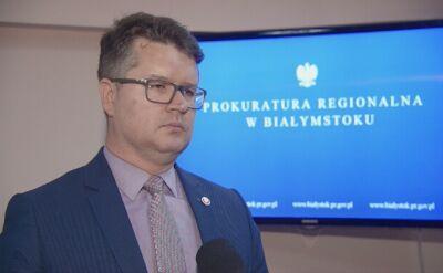 Rzecznik prokuratury o przesłuchaniu Jana Grabca w sprawie Banasia