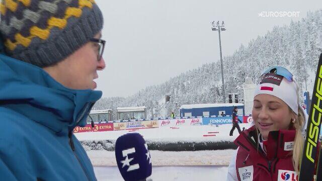 Rozmowa z Izabelą Marcisz po biegu na 10 km stylem klasycznym w Ruce