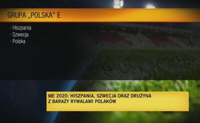 Polska trafiła na Hiszpanięi Szwecjęw grupie Euro 2020