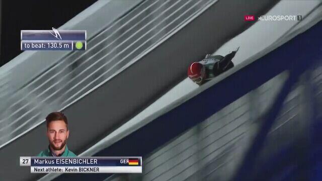 Upadek Markusa Eisenbichlera w kwalifikacjach w Ruce