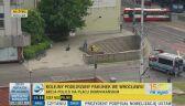 Alarm bombowy w centrum Wrocławia