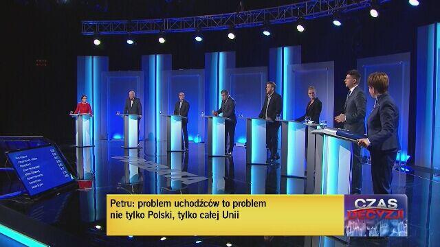 Uczestnicy debaty odpowiedzieli na pytanie o uchodźców