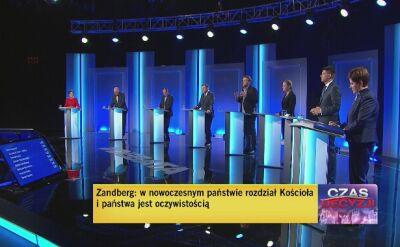 Uczestnicy debaty odpowiedzieli na pytanie o relacje państwa i kościoła