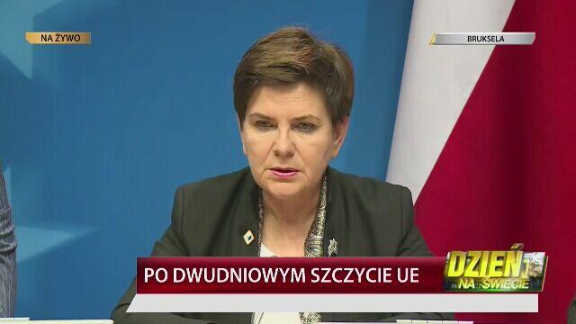 Warszawa nie poprze Tuska? Szydło: nie słyszałam, by chciałreformować UE