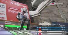 Wściekły Yukiya Sato po drugim skoku w konkursie drużynowym w Zakopanem