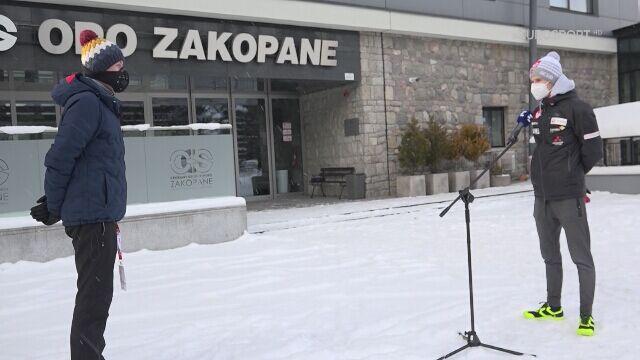 Halvor Egner Granerud przed kwalifikacjami w Zakopanem