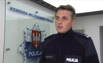 Rzecznik wielkopolskiej policji o pożarze