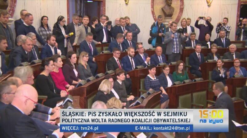 Polityczna wolta Wojciecha Kałuży