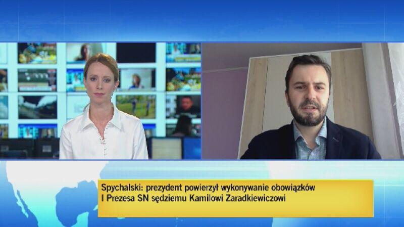 Witold Zontek: konstytucja nie przewiduje kogoś kto kieruje SN a nie jest jego I prezesem