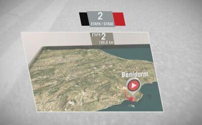 Profil 2. etapu Vuelta a Espana