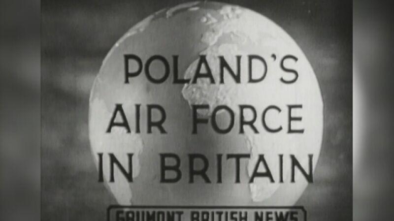 Polscy lotnicy w Wielkiej Brytanii. Kronika filmowa z 1 maja 1940 roku