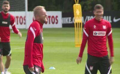 Lewandowski ćwiczył w czwartek z kolegami