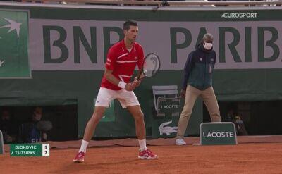 Najważniejsze momenty półfinału French Open Novak Djoković - Stefanos Tsitsipas