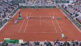 Piłka meczowa dla Rafaela Nadala w półfinale French Open