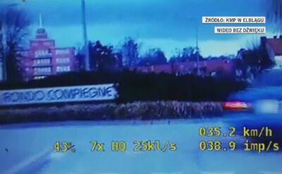 17-latek uciekał przed policją kradzionym samochodem