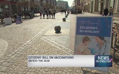 Draft bill on obligatory vaccinations for children is in the Sejm