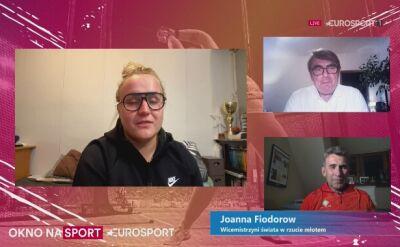 Joanna Fiodorow o przebytej operacji kolana