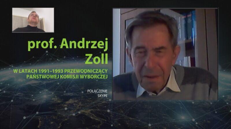 Andrzej Zoll: myślę, że wszystkie kraje demokratyczne nie uznają tych wyborów
