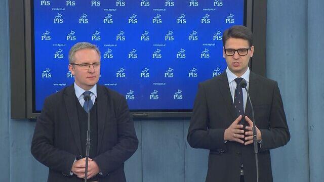 """Zdaniem Mariusza Antoniego Kamińskiego z PiS to, co robi Donald Tusk to jest """"fikcyjny mandat"""""""