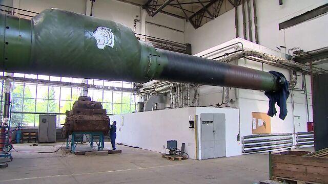 W Poznaniu remontowany jest właśnie czołg z 1940 roku. Wcześniej pełnił rolę... schronu