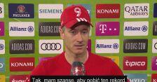 Robert Lewandowski o pobiciu rekordu Gerda Muellera
