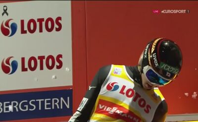 Skok Ryoyu Kobayashiego na Wielkiej Krokwi w kwalifikacjach