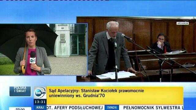 Stanisław Kociołek prawomocnie uniewinniony ws. Grudnia '70