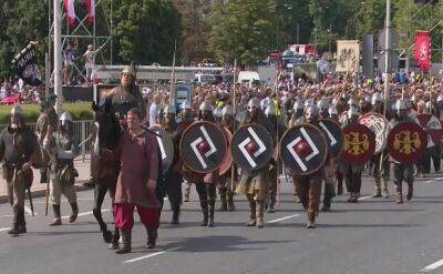 March of reconstruction groups - early Middle Ages