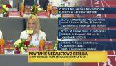Podwójnie złota Justyna Święty-Ersetic po powrocie do kraju