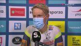Van der Hoorn po wygraniu 3. etapu Benelux Tour