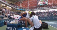 Przerwa medyczna Magdy Linette w 1. rundzie US Open