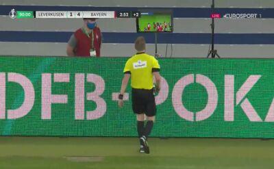 Finał Pucharu Niemiec. Bayern - Bayer 4:2 (Havertz)