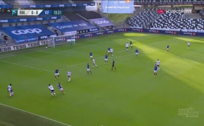 Liga norweska. Rosenborg - Valerenga 1:0 (gol Marius Lundemo)