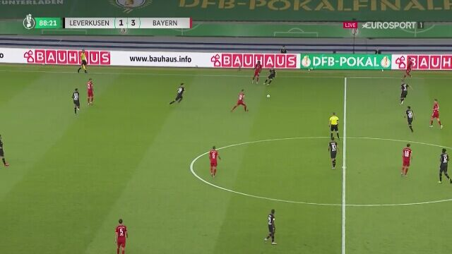 Finał Pucharu Niemiec. Bayern - Bayer 4:1 (Lewandowski)