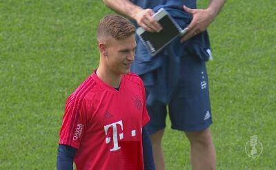 Trening Bayernu przed finałem Pucharu Niemiec