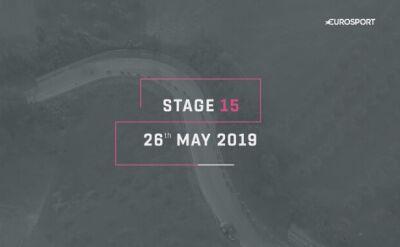 Profil 15. etapu Giro d'Italia